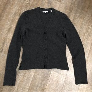 Vince 100% Cashmere button down cardigan